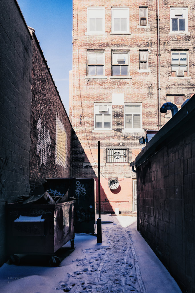Brightened Alleys