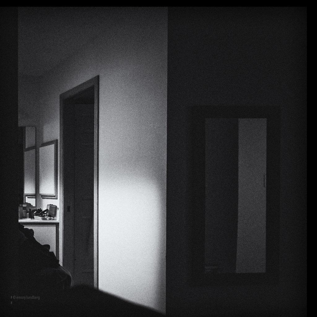 Darkened Bedroom