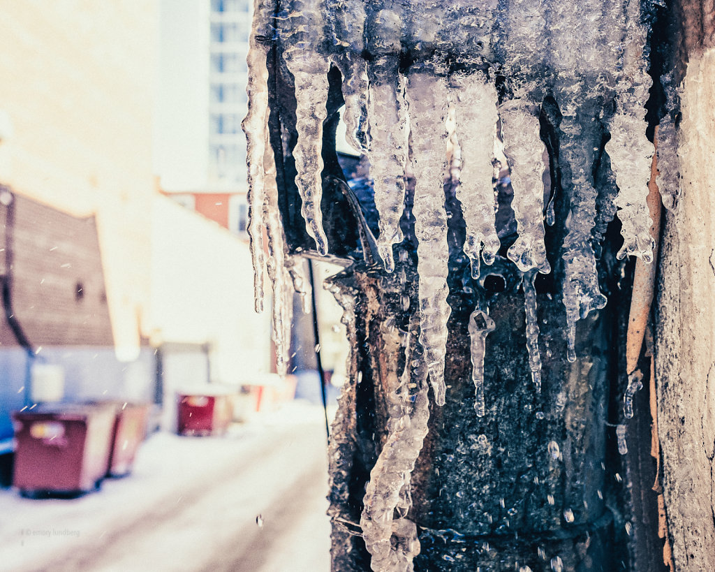 Icicles Melt