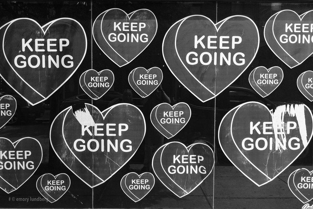 keep going (mono)